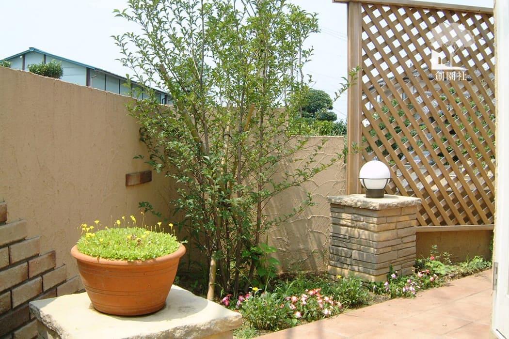 藤岡市 植栽 花台