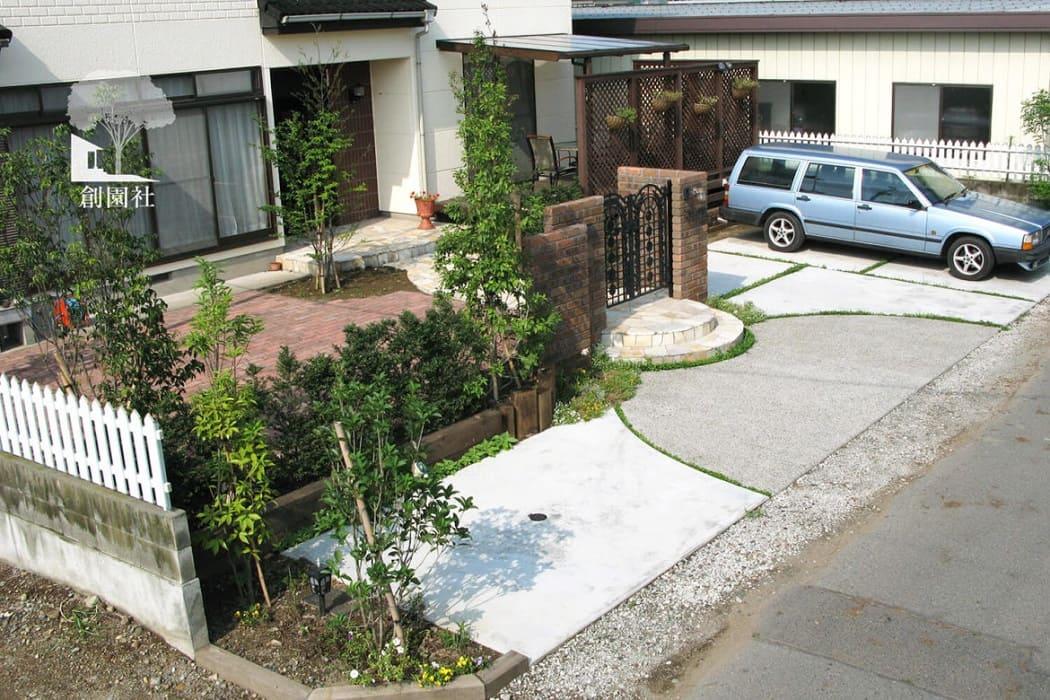 前橋市 コンクリート 駐車場