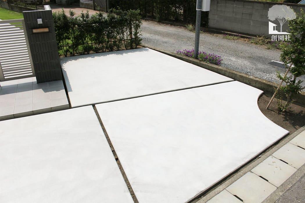 高崎市 駐車場 土間コンクリート