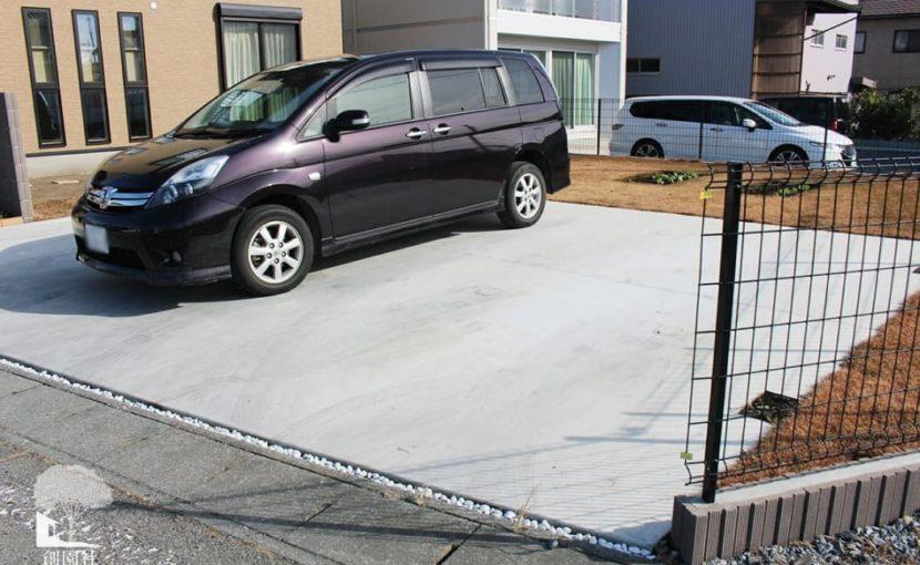 高崎市 駐車場 コンクリート