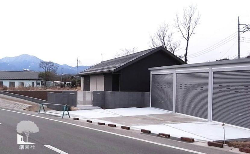 沼田市 クローズ外構