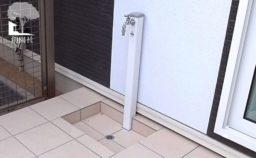 高崎市 新築外構 立水栓