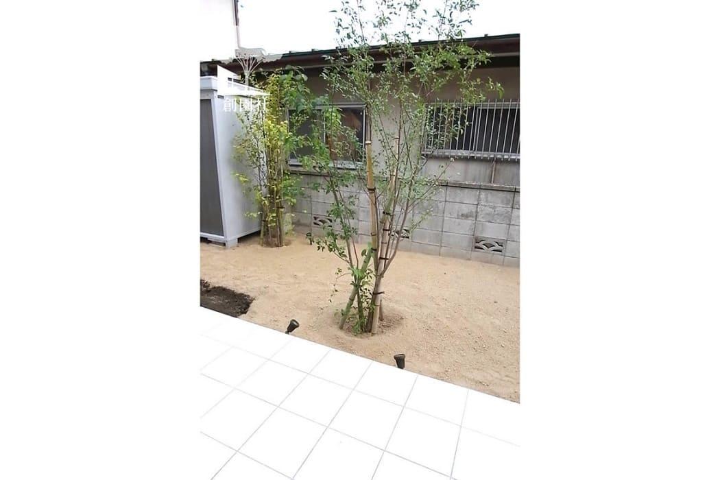 高崎市 新築外構 シンボルツリー