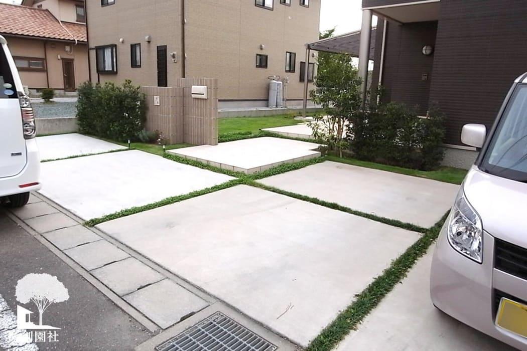 藤岡市 土間コンクリート 駐車場