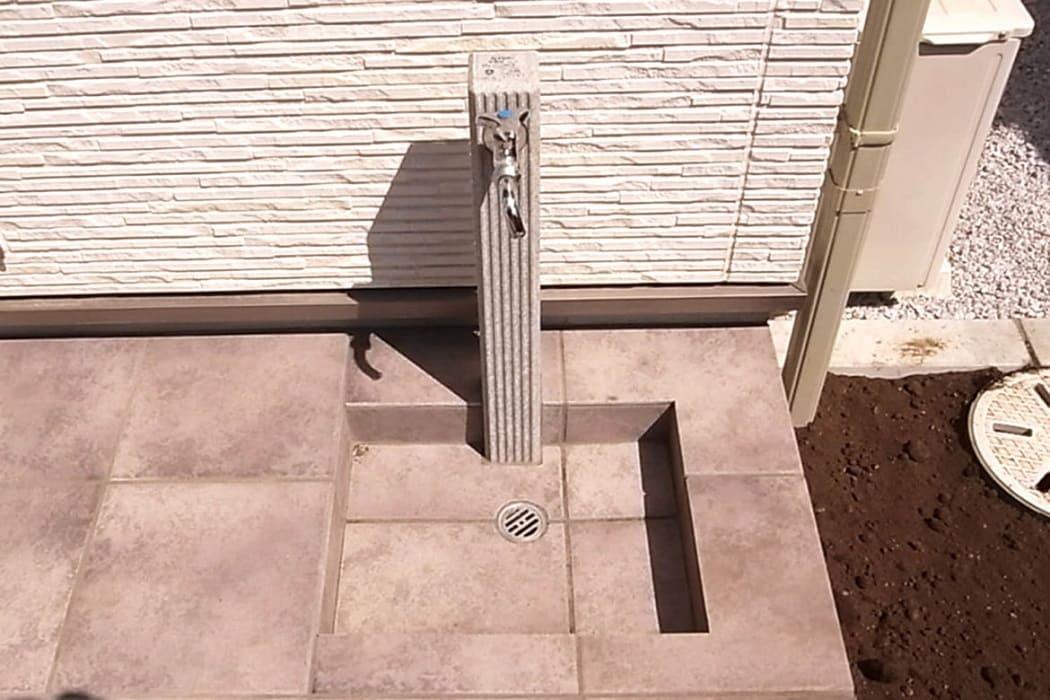 上里町 外水道 立水栓