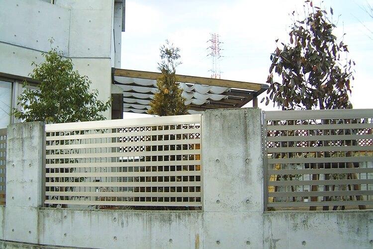 アルミフェンス 施工事例