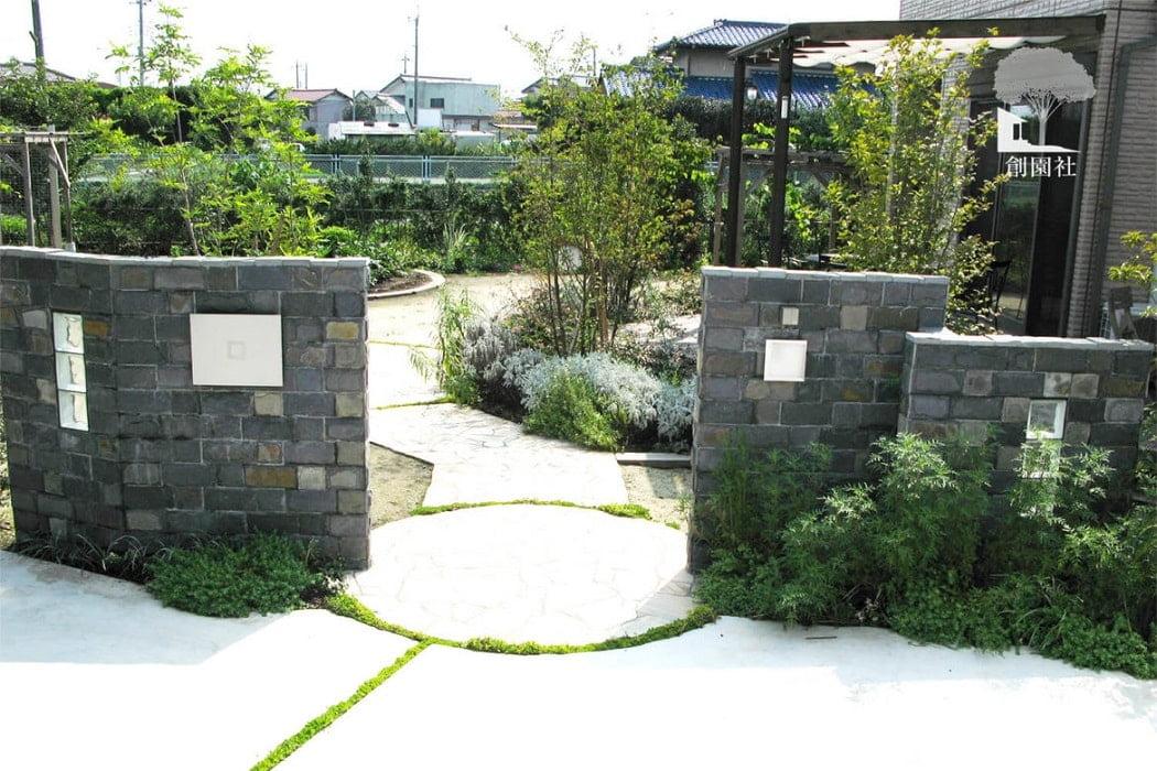 前橋市 ナチュラルガーデン デザイン