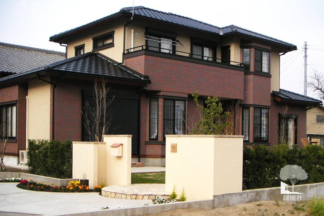 伊勢崎市 セミクローズ外構
