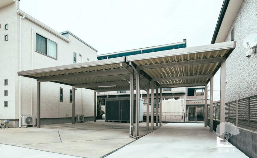 前橋市 カーポート2台用