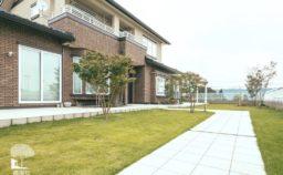 渋川市 新築 庭