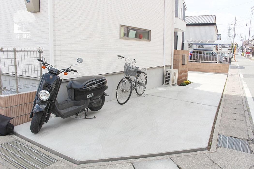 コンクリート 駐車場
