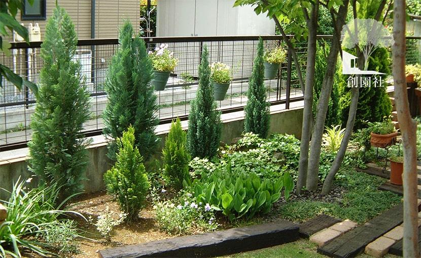 群馬県高崎市 花壇