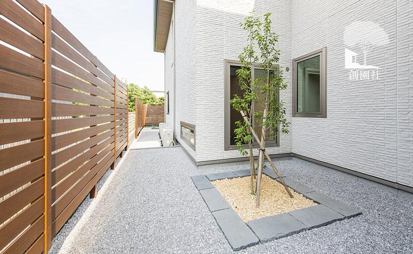 群馬県高崎市 新築外構 家庭菜園