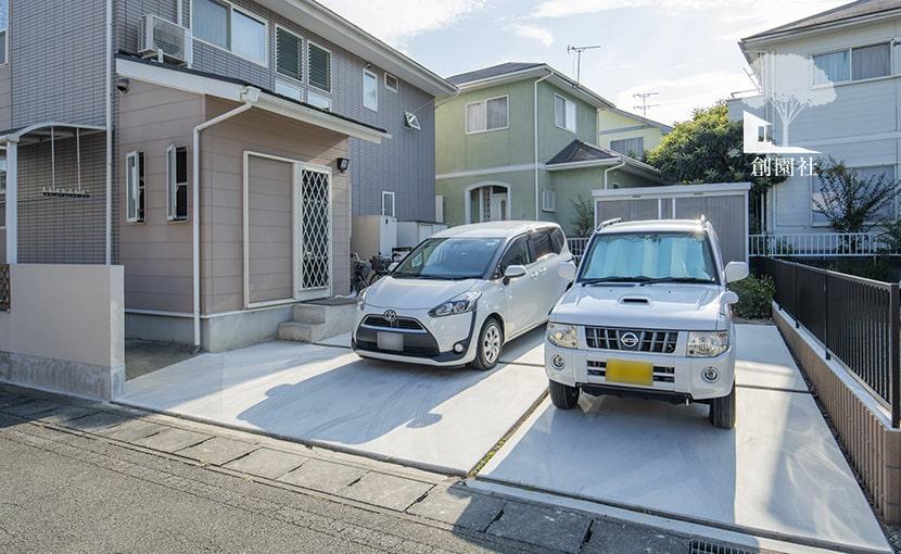 群馬県 高崎市 リフォーム 駐車場